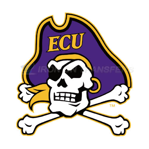 East Carolina Pirates Iron-on Stickers (Heat Transfers)NO.4303